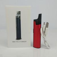 ingrosso kit mini starter elettronico-Nuovi kit di avviamento Ecig Serbatoi dell'olio Mini Nebbia Nebulizzatore Scatola di Clearomizer Mod Batteria Sigarette elettroniche Penna Vape