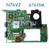 asus anakart kalitesi toptan satış-Asus N76VM Laptop Için yüksek kalite N76VJ Anakart N13P-GLR-A1 GT635M 2 GB N76V N76VB ANA KURULU 100% Test Hızlı Gemi