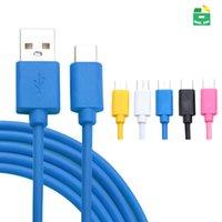 micro usb cable oem achat en gros de-USB Câble USB Micro TYPE C Type-C Câbles de charge pour Android Huawei Xiaomi Samsung Smartphone OEM