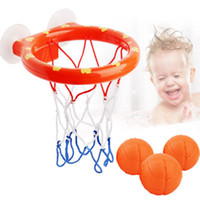 Wholesale games for kids indoors resale online - Basketball Hoop Bath Toy on Suckers Set for Child Kid Outdoor Game Development of Boy Interesting Indoor Sport Tool Kit for Baby L