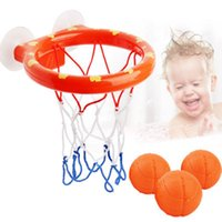 kit de ferramentas de meninos venda por atacado-Brinquedo de banho de cesta de basquete em conjunto de otários para criança Kid Outdoor Game Desenvolvimento de menino interessante Kit de ferramenta de esporte interior para bebê L