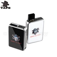 caixa modificada iluminada venda por atacado-Authentic Demon Killer JBOX Box Mod Built-in 420 mAh Bateria LED Luz Indica Vape Mods Para Jpod COCO Pod Cartucho DHL livre