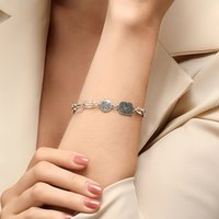 Wholesale china hot heads for sale - Group buy 15pcs Hot Selling Cartoon Retro Bracelet Boy Head Thick Chain Brace Lace Silver Alloy Hand Chain For Women Hand Jewelry Accessories