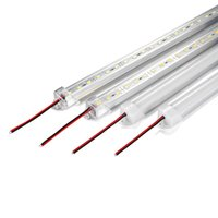 ingrosso luci a parete di alta luminosità-50cm 100cm DC12V LED Bar luce ad alta luminosità 5630 con copertura del PC LED luce impermeabile a LED striscia dura Cabinet Light Wall Lamp