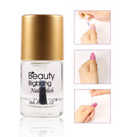 Wholesale stamping plates for nails resale online - BeautyBigBang ml Nail Polish Fast Drying Top Coat For Stamping Plate Base Coat Manicure Nail Polish Care Varnish Art Tool