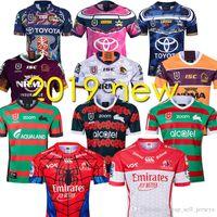 löwen rugby großhandel-Rabbitohs Broncos Brisbane Löwen Cowboys Rugby-Trikots 19 20 South Sydney ANZAC Rugby-Trikot 2019 2020 Rugby-Trikot der National League