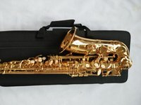 Brand New YANAGISAWA A-992 Alto Saxophone Gold Lacquer Sax Professional Musical Instruments With Mouthpiece, Case