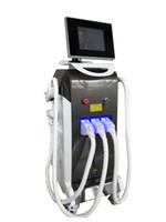 yag laser profesional al por mayor-La mayoría de la venta caliente, sin dolor depilación profesional e-light ipl + rf + nd yag láser multifunción máquina de belleza