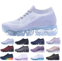 Wholesale designer dress shoes for men resale online - Air Mens Designer Running Shoes For Men Casual Air Cushion Trainers Women Athletic Dress Outdoor Best Hiking Sports Sneakers US