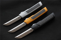 vespa knifes venda por atacado-Alta qualidade VESPA Ripper Folding Lâmina de Faca: D2 (Acetinado) Handle: 7075Aluminum + CF, facas de sobrevivência de acampamento ao ar livre EDC ferramentas