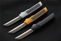 cuchillos vespa al por mayor-Cuchillo plegable de alta calidad VESPA Ripper: D2 (satinado) Mango: 7075 Aluminio + CF, cuchillos de supervivencia para acampar al aire libre Herramientas EDC