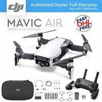 dronlar w kameralar toptan satış-DJI MAVIC AIR Katlanabilir Taşınabilir Drone w / 4 K Stabilize Kamera - ARCTIC BEYAZ