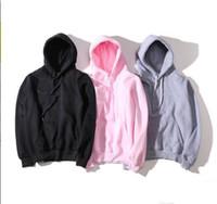 moda casual homens hoodies venda por atacado-Mulheres Moda de Nova Hoodie Men campeão camisola Tamanho S-XXL 15color Cotton TOPS Mistura Designer moletom manga comprida Streetwear Vestuário