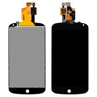 Wholesale touch screen for nexus resale online - Original for LG Nexus LG E960 LCD Display Touch Screen Digitizer Assembly Frame Free DHL