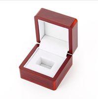 caixas de jacarandá venda por atacado-Caixa de presente de madeira do anel do campeão da jóia do jacarandá