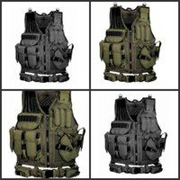 Wholesale multiple games for sale - Game Equipment Protective Vest Wild Adventure Multiple Pockets Multi Function Army Green Black Cool Tactical Vests Hot Sale ayD1