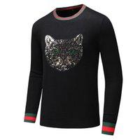 modische sweatshirts groihandel-Designer Pullover für Herren Damen Pullover Luxus Hoodies Sweatshirt Langarm Modisch Hot Tops Bekleidung 2 Tiger Optionen Größe M-3XL