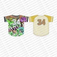 größe 56 trikots großhandel-Top Custom Baseball Jerseys der Männer Stickerei Logos Jersey Freies Verschiffen billig Großhandel jeder Name eine beliebige Anzahl Größe M-XXL 56