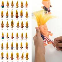 ingrosso nuovi modelli vestono i capretti-New Donald Trump Action Figures Doll Stati Uniti d'America Presidente John Trump giocattoli Dressed Modello Kids Children Hand Gioca Funny Toys 4852