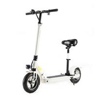 monopatín usb al por mayor-Daibot X1 X3 X5 X5S plegable de Electirc Vespa 10 pulgadas bicicleta plegable eléctrica Monopatín Hoverboard Kick Scooter de carga USB
