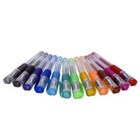 stationär für kinder großhandel-12x duftende Glitter-Gelschreiber Kids Stocking Filler School Stationary