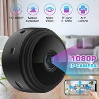 seguridad de la cámara inteligente al por mayor-Cámara de seguridad IP WiFi 1080P HD Mini Ronda de cable de la cámara de visión nocturna inalámbrica Smart Home Sistema de Video Baby Monitor IP Cam Inicio