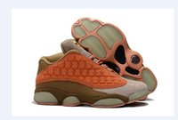 Wholesale 47 sneakers 13 resale online - 2019 New CLOT x Jumpman XIII Low Basketball Shoes High Quality Mens Super League Edition Trainers s Retro Sports Sneakers SIZE