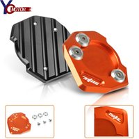 CNC Motorcycle Side Stand Kickstand Enlarge Plate Pad For Honda MSX125 2013-2015