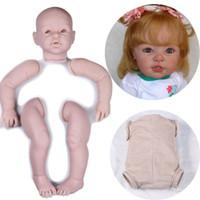 kit de silicone renascido venda por atacado-29inch grande criança kit peças de boneca sem pintura kits de silicone bebes reborn lifelike reborn baby kit boneca acessórios 29 polegada grande
