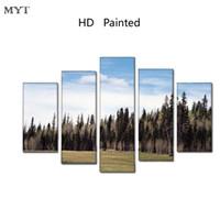 grandes pinturas de paisagem venda por atacado-