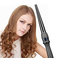 Wholesale electric roller machine resale online - TOHUAN Electric Hair Curler Ceramic Curling Iron Professional Curl Hair Wave Adjustable Temperature Roller Curling Machine