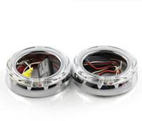 proyector 2.5 al por mayor-E-Type HID Projector Shrouds Máscaras Capuchas Biseles para la adaptación del proyector Chorme Fit 3.0 2.5 inch Lens Q5 E5 WST