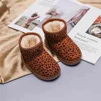 Wholesale kids slippers for girls for sale - Group buy 2 Y Kids Shoes Girl Boots Leopard Winter Children s Slippers Baby Kid s Boots For Girls Shoes Non Slip Snowboots