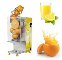 máquinas de sumos de laranja venda por atacado-Processamento de suco de laranja automático elétrico que faz a máquina espremedor de limão