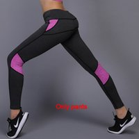 Wholesale yoga pant outfits resale online - NEW Women Yoga Outfits Ladies Sports Full Leggings Ladies Pants Exercise Fitness Wear Girls Brand Running Leggings