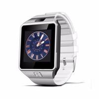 huawei kamera großhandel-Bluetooth smart watch dz09 smartwatch tf sim kamera männer frauen sport armbanduhr für samsung huawei xiaomi android phone