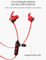 Wholesale micro ear bluetooth for sale - Group buy In Ear Wireless Earbuds Bluetooth Earphone with Microphone Waterproof Sport Bluetooth Headset Handsfree Auriculares Magnetic Micro SD Card