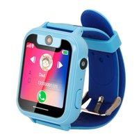 ingrosso ragazza gp-Nuovi smartwatch GPS S6 Smartwatch per bambini Baby SOS Call Finder Localizzatore Localizzatore Tracker Monitor anti-smarrimento Regalo per ragazze