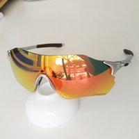 ciclismo holbrook gafas de sol al por mayor-gafas de ciclismo PRIZM 9313 evzero sin montura gafas de sol polarizadas de los hombres del deporte al aire libre gafas accesorios de gafas bicicleta TR90 Holbrook con caja de 8