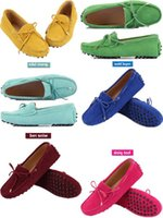 Wholesale whites hard drives online – 2019 Genuine Leather Women Flat Shoes Casual Loafers Slip On Women S Flats Shoes Moccasins Lady Driving Shoes