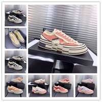 zapatos de moda para hombre precios al por mayor-2019 fashion Limited XVESSEL G.O.P. Lows negro amarillo rojo azul zapatos de lona para hombres mujeres diseñador con precio barato tamaño: 35-44