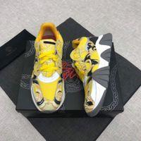 zapatos de cuero marrón para hombres al por mayor-2020 calzado deportivo hecho a mano caliente de la vendimia de la manera Marca de calzado masculino hombres genuinos del cuero Casual zapatos del patín Brown Mans Calzado