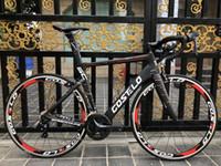ingrosso colore del telaio in carbonio-Costello Speedcoupe sky color 2.0 carbonio bici da strada frameset 2018 Costelo bicicletta bicicleta telaio in fibra di carbonio frameset della bicicletta