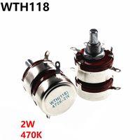 ingrosso doppio potenziometro-WTH118 2W 470K doppio potenziometro 2 potenziometro