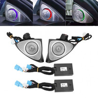 Wholesale south africa mobile for sale - Group buy 3D Stainless Steel Rotating Tweeter Treble Coaxial Sound Speaker Car Audio Tone Horns For Benz C E S Class W205 W213 W222