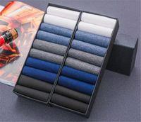 серые шелковые носки оптовых-20 пар / лот мужские деловые носки удобные дышащие лед шелк нейлон дезодорант экипаж носки черный белый серый носки дропшиппинг
