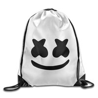 sac à bandoulière festival achat en gros de-DJ Marshmallow sac Polyester Sac À Dos Festival Halloween Festival En Plein Air Cordon De Voyage Sac À Bandoulière pour les adolescents MMA1528