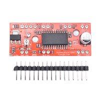 arduino drucker groihandel-1 STÜCK A3967 EasyDriver Shield Schrittmotortreibermodul V44 Für Arduino 3D Drucker
