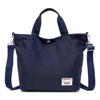 cüzdan için bez çantalar toptan satış-Kapasite Çanta Casual İç Çanta Kadınlar Su geçirmez Omuz Tote Oxford Moda Cep Bezi Satchel Büyük Yuvası Çanta