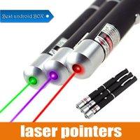 ingrosso laser blu leggero potente-1 pz Puntatori laser Grande potenza potente Elegante 650nm rosso blu verde Puntatore laser Penna luminosa Lazer Beam 1mW ad alta potenza
